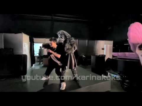 Репетиция шоу Маска - песня Running