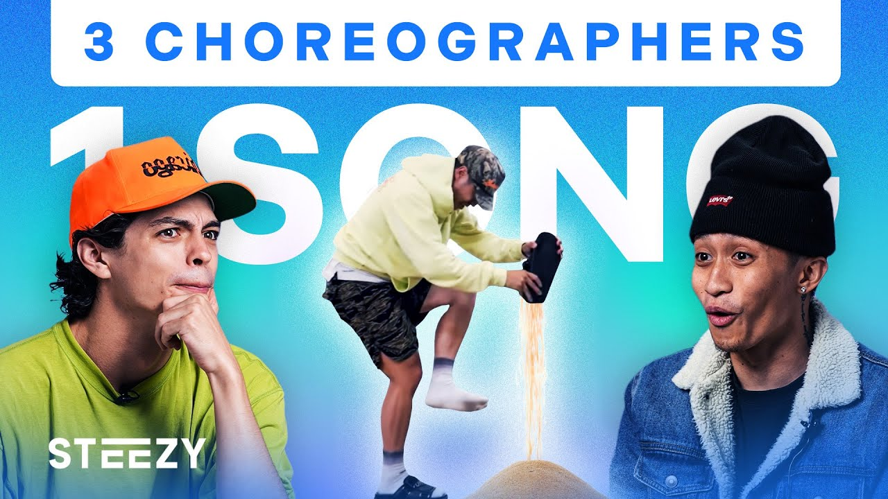 Download 3 Dancers Choreograph To The Same Song – Ft. Ian Eastwood, Brian Puspos, & Melvin Timtim | STEEZY.CO