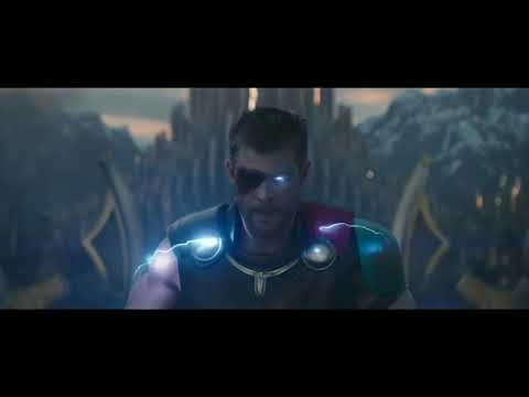 Thor Ragnarok Bridge fight clip HD