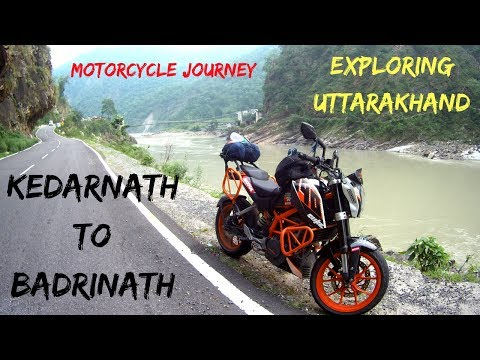 Motorcycle Journey Kedarnath To Badrinath | Fastest Char Dham | Day 6 |