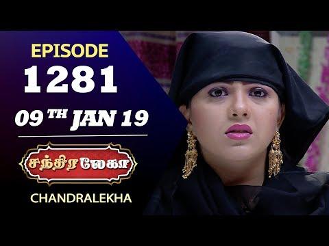 CHANDRALEKHA Serial | Episode 1281 | 09th Jan 2019 | Shwetha | Dhanush | Saregama TVShows Tamil