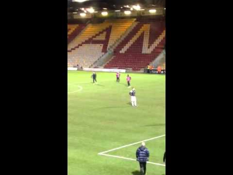 Port Vale players dancing to James Brown - Tues 18th Feb 20