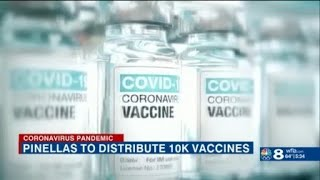 Pinellas County prepares to distribute 10K COVID Vaccines by appointment