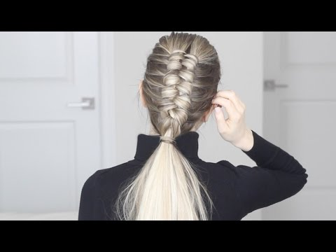How to:  Infinity Braid / Figure 8 Braid