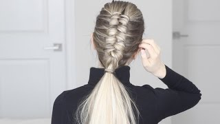HOW TO:  Infinity Braid / Figure 8 Braid