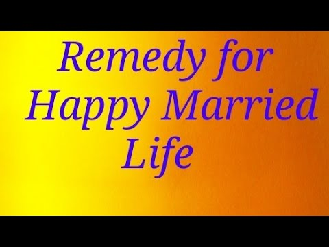 Remedy for Happy Married life through (Sun Astro Point)