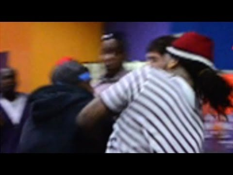 Waka Flocka Fight -- Rapper Takes Haymaker to the Face! | TMZ
