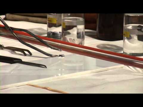 Alkali Metals - 10   Reactions of lithium with air
