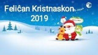 Feliĉan Kristnaskon 2019