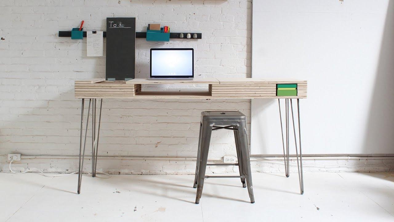 The Flip Desk - YouTube