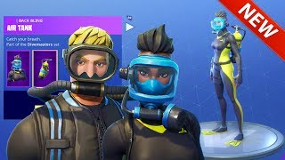 *NEW* WRECK RAIDER & REEF RANGER SKINS & LASER CHOMP GLIDER! - FORTNITE BATTLE ROYALE