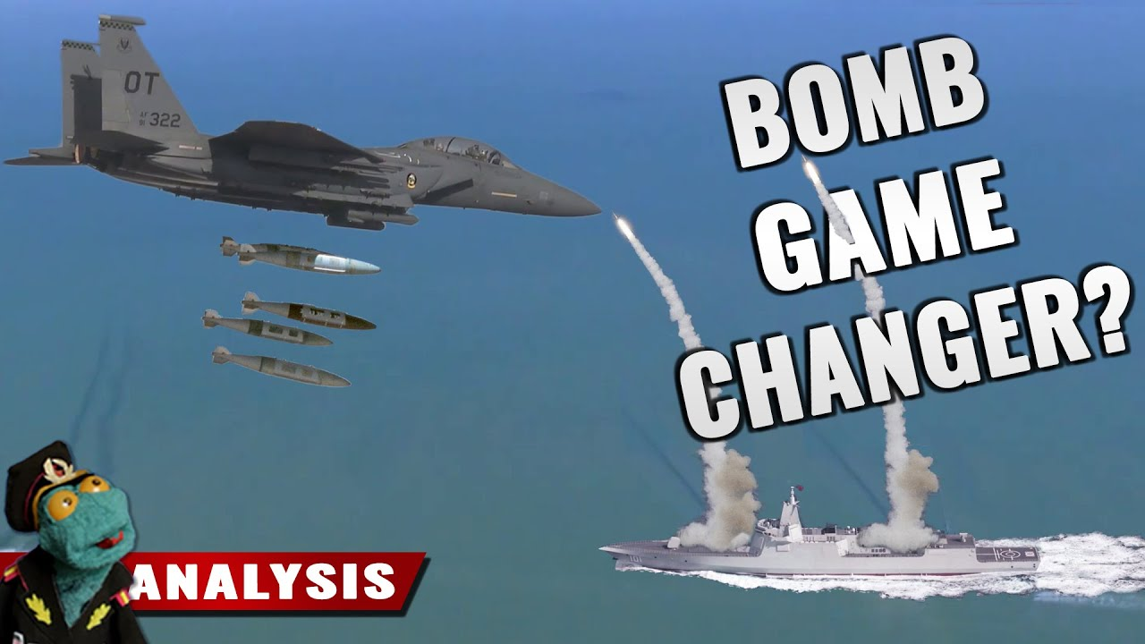 Is USAF getting hundreds of thousands of anti-ship guided bombs?