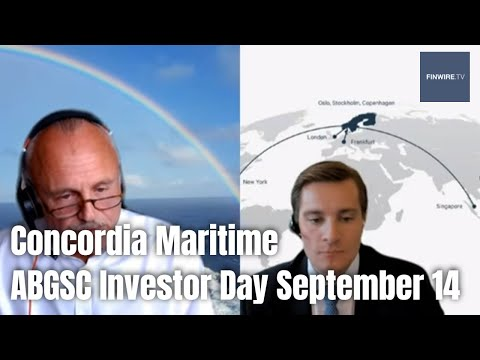 Concordia Maritime - ABG Investor Day 14 september