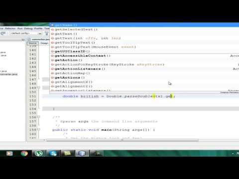 How To Make Currency Converter In JAVA J frame