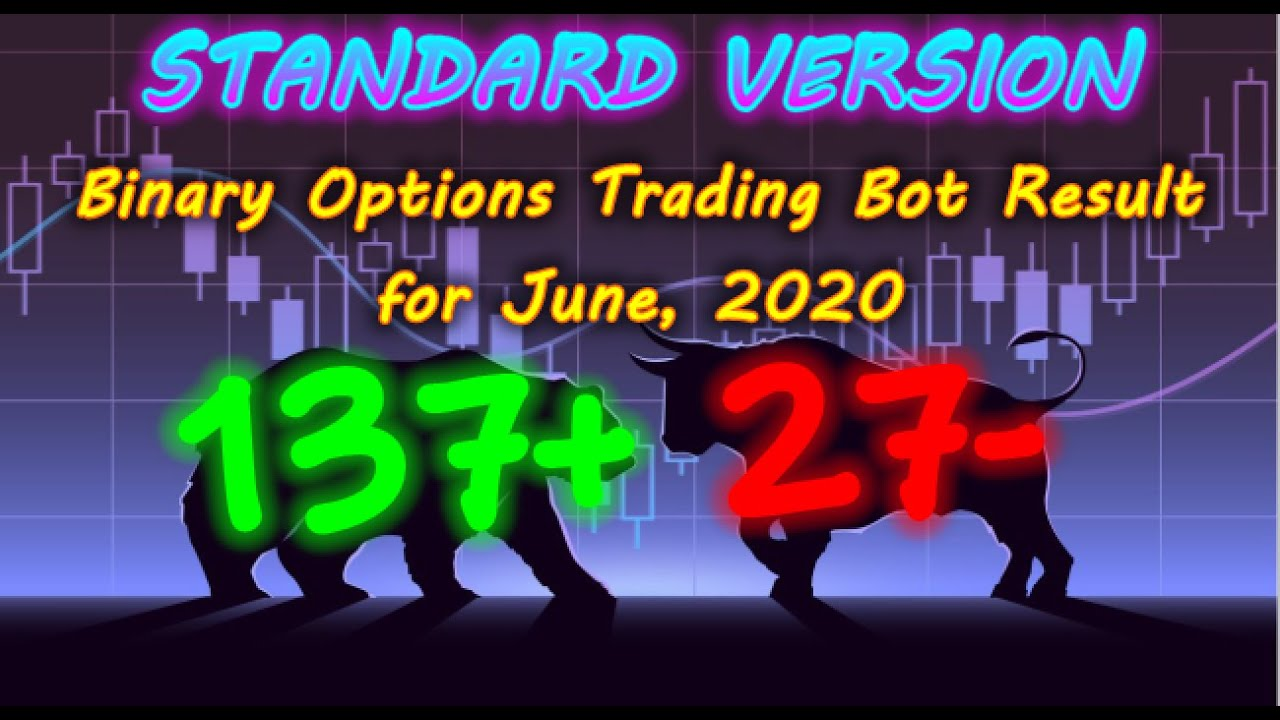 Binary Options Bot Trading Report for June, 2020 (137+ 27 ...