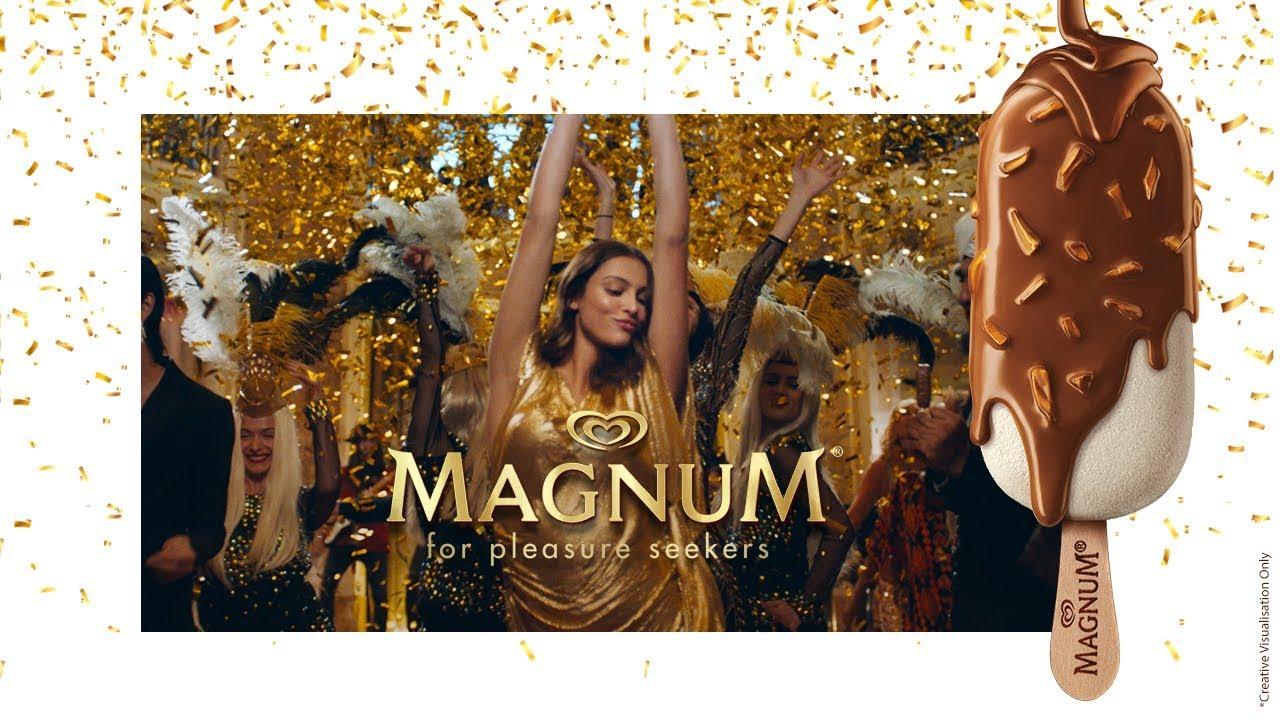 """Magnum y """"El gran Gatsby"""" se encuentran en un mismo anuncio"""
