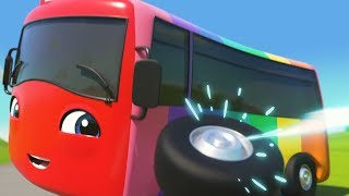 BRAND NEW! Buster in Colorland | Little Baby Bus | Kids Cartoons | Children's Stories
