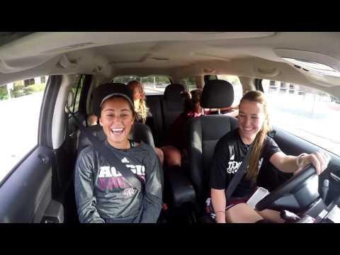Aggie Soccer Unlaced | Carpool Karaoke Edition