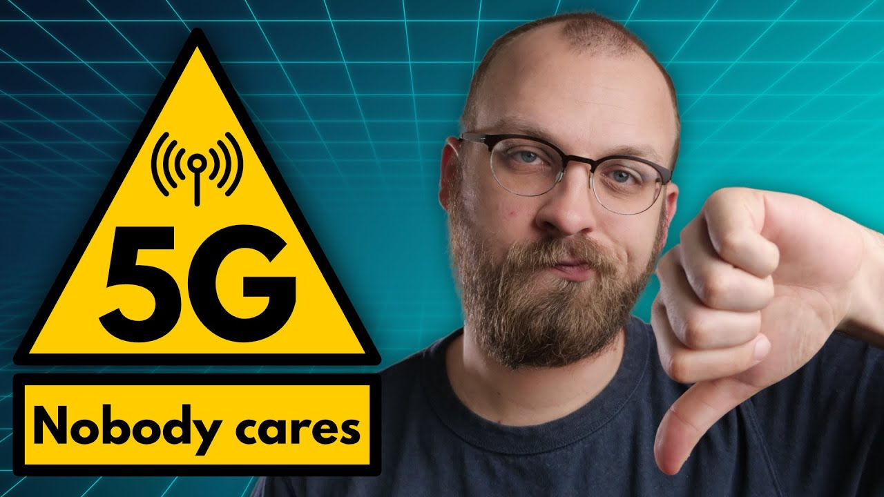 Study finds: people couldn't care less about 5G
