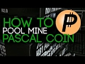 How to Pool mine Pascal Coin.