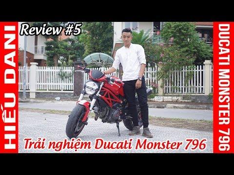 Đánh giá và trải nghiệm DUCATI MONSTER 796 ▶ Con quái vật thực sự trong phân khúc Naked-bike