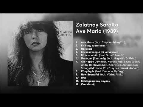 Zalatnay Sarolta - Ave Maria album (1989)
