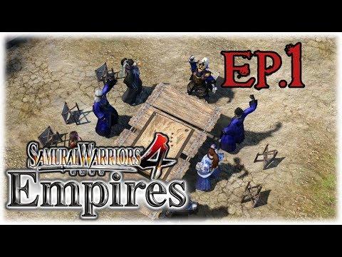 Samurai Warriors 4 Empires | Conquest Mode | (Hajime Saito) #1