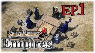 Samurai Warriors 4 Empires | Conquest Mode | (Hajime Saito) #1