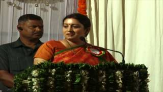 Smriti Irani Speech That Will Inspire You to Succeed