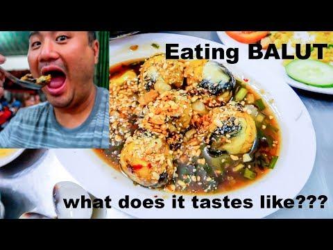 What Does Balut Taste Like : Food in Saigon : SE Asia Travel Vlog #03
