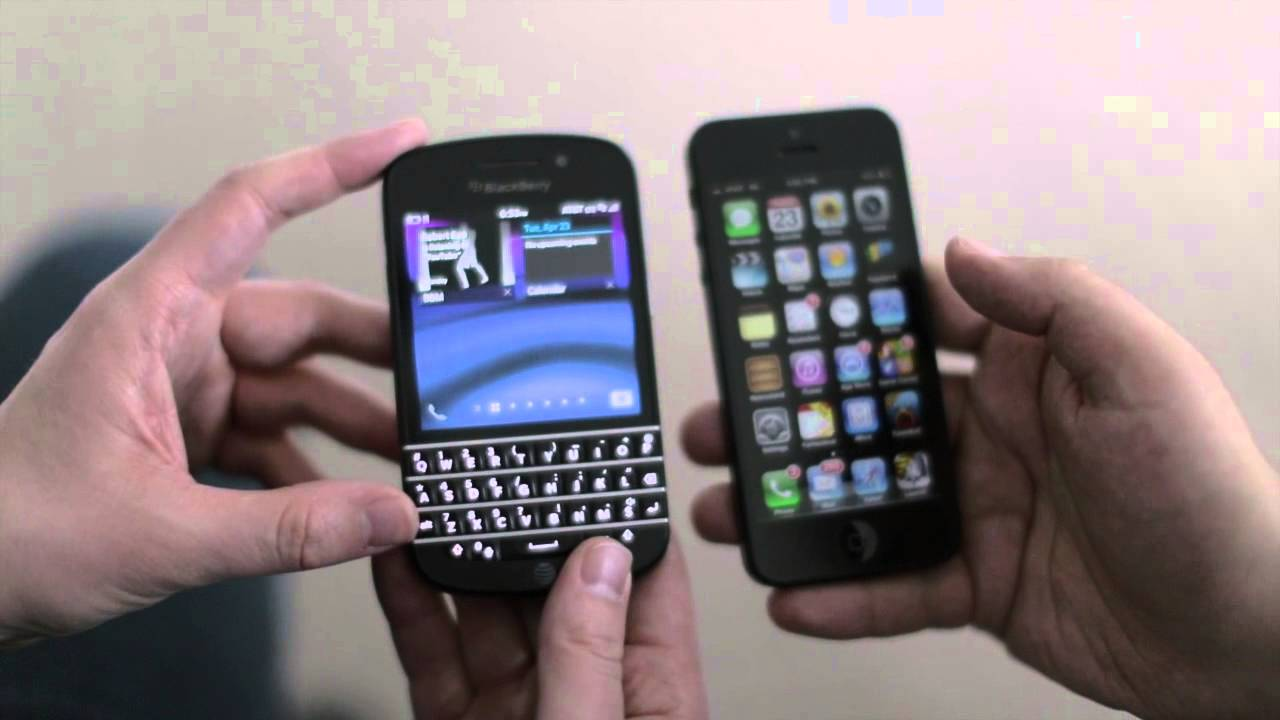 Iphone 5 vs blackberry q10 which should you buy youtube ccuart Gallery