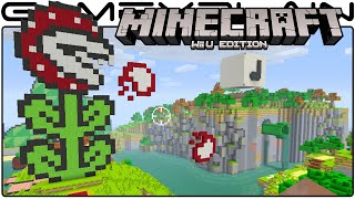 Minecraft Wii U: Super Mario Mash-Up Pack DLC Gameplay Tour