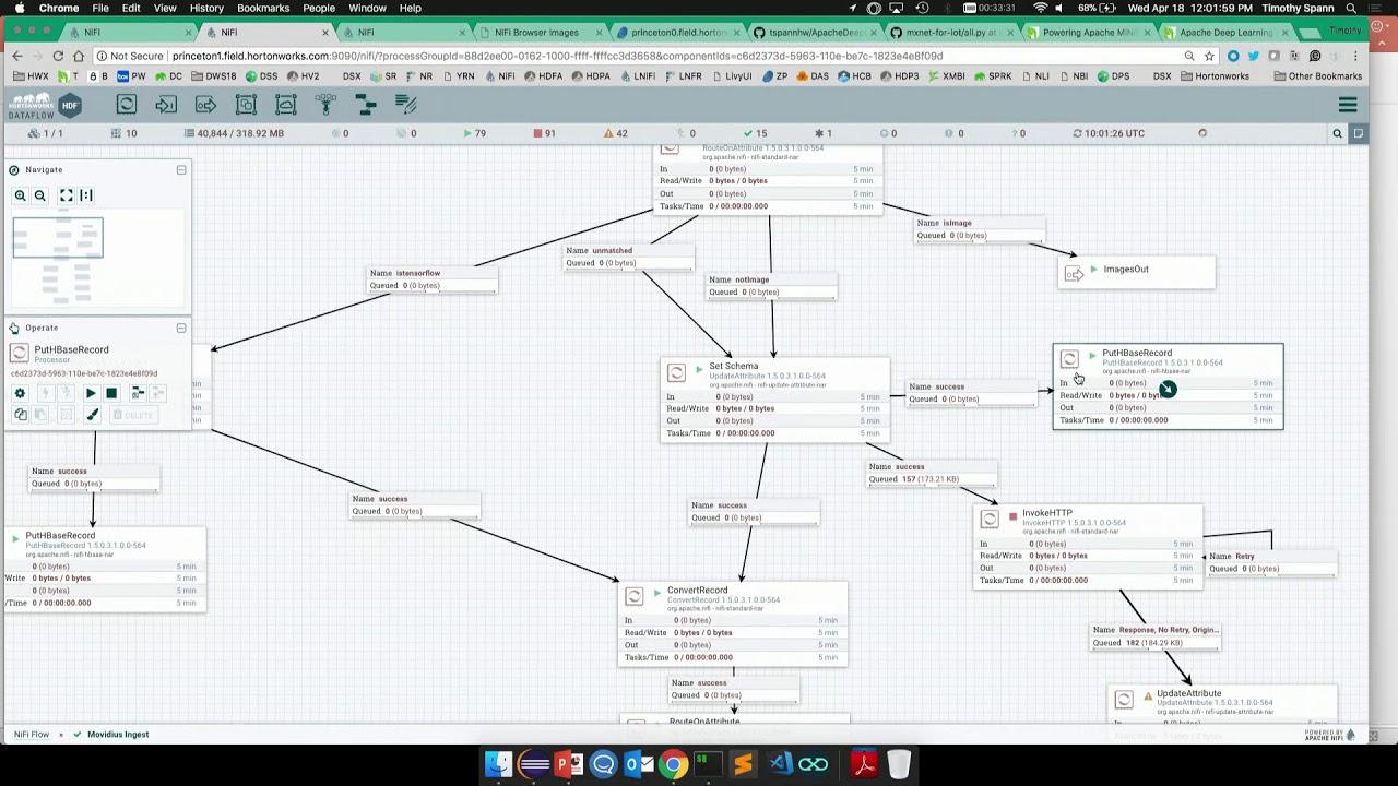 IoT with Apache MXNet and Apache NiFi and MiniFi - DataWorks