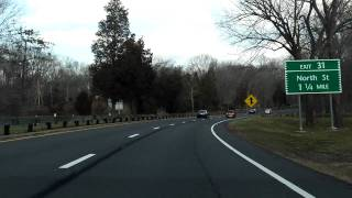 Merritt Parkway (Exits 27 to 35) northbound
