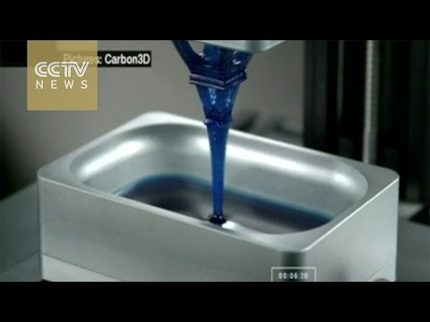 3D printer 'Grows' objects from liquid