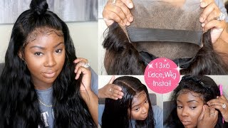 Baixar Beginner 13x6 Lace Frontal Install Wig Install | Flawless Results! |  | Wiggins Hair
