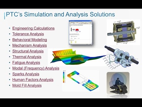 Webinar Replay: PTC Creo Simulation and Analysis Solutions