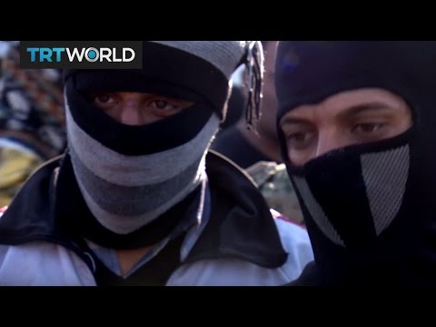 The Fight for Mosul: Daesh militants fleeing disguised as civilians