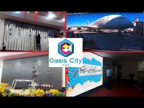 Large LED Display Screen for International School, Dubai-Oasis City-UAE