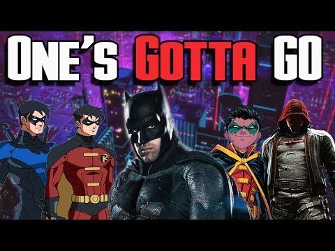 Batman Potential Successors! Nightwing, Red Hood, Tim Drake, Damian Wayne | One's Gotta Go