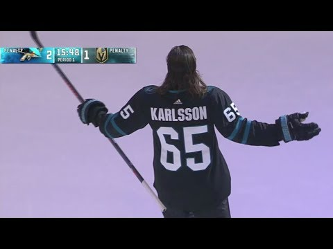 Erik Karlsson Reveals Stealth Jersey