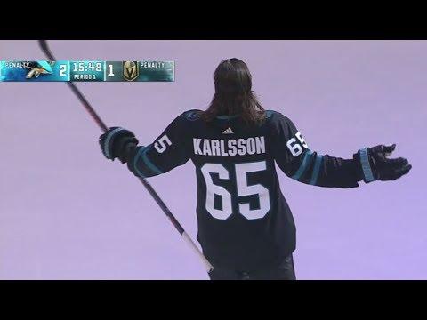 official photos 434aa 7f74d Erik Karlsson Reveals Stealth Jersey