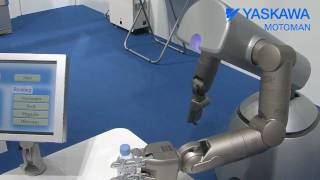 Repeat youtube video automatica 2010 - Messefilm yaskawa motomann