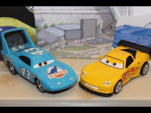 Mattel Disney Cars 3 Jeff Gorvette The King Piston Cup Racers