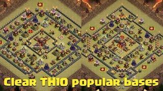 "Clash Of Clans | 3 Star Internet TH10 ""Ring"" Base: Gova (Mass Valkyries)"