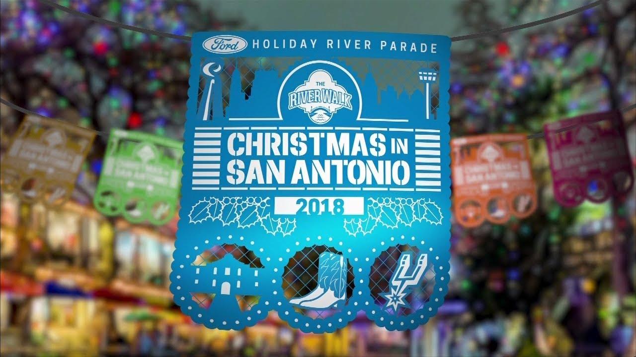 San Antonio Ford >> Ford Holiday River Parade 2018 San Antonio