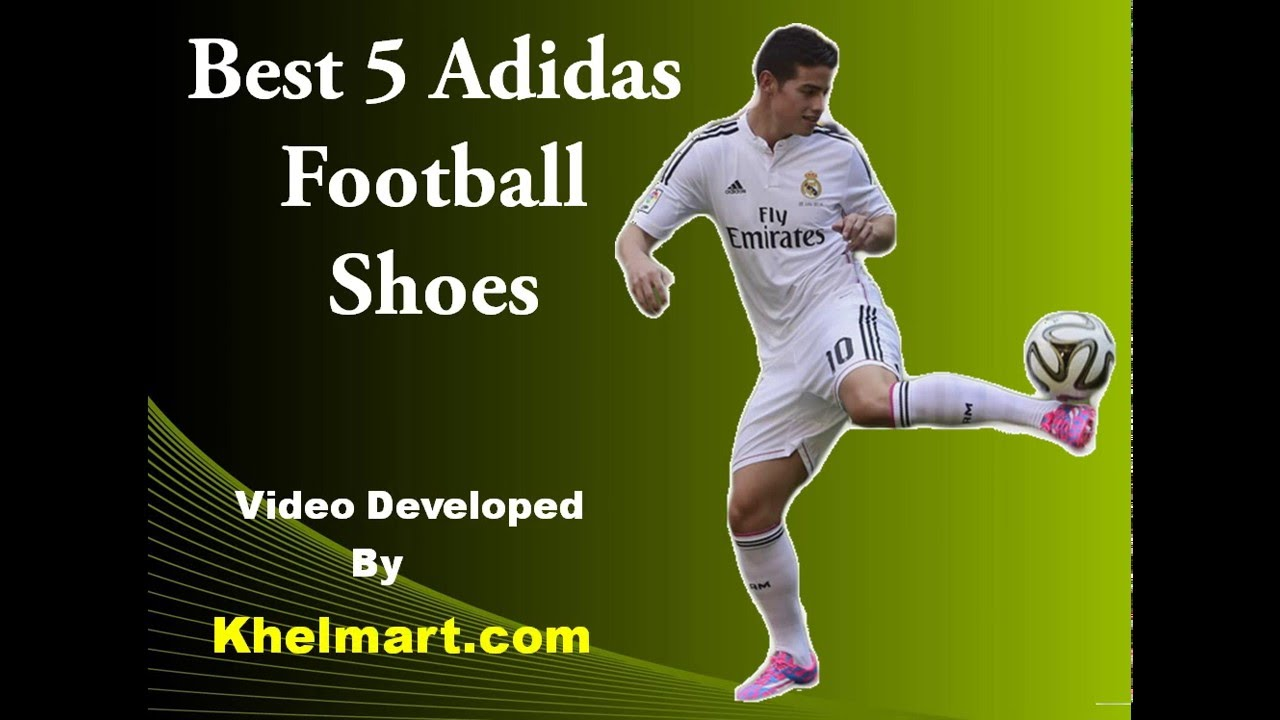 Best 5 Adidas Football Shoes in 2016 - YouTube 663c6f7e19a7