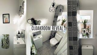 Cloakroom Reveal | Budget Cloakroom Makeover