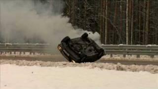 Каскадеры Mercedes's crash Гибель Мерседеса