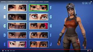 * ADIVINALA THE SKIN FOR YOUR EYES CHALLENGE* Fortnite Battle Royale